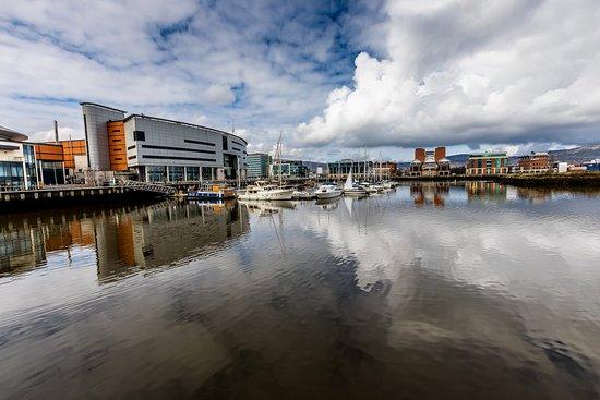 Premier Inn Belfast Titanic Quarter Hotel: 2mins walk from hotel
