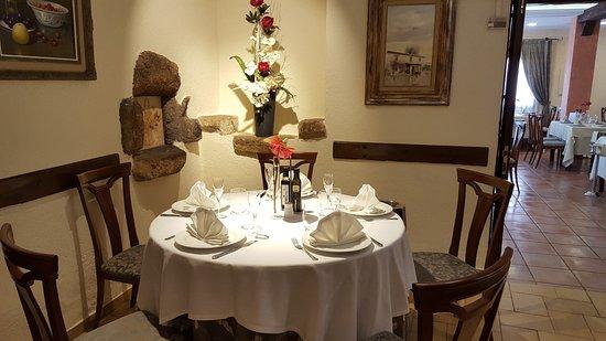 Mas Romeu Restaurante: Накрытие