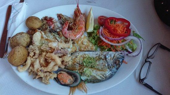 Gran Tarajal, Spain: Fischplatte