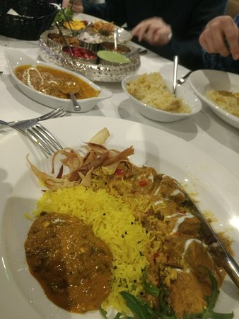 Broadstone, UK: Narikel Duck and a Black Lenti Dhal