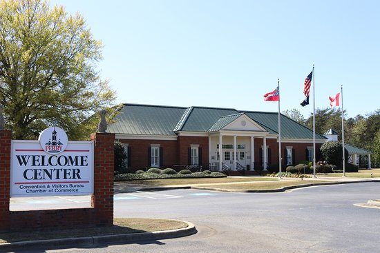 The Perry Welcome Center is located at I-75 exit 135 in Perry, GA.
