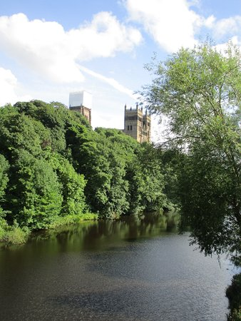 Durham East End Of Elvet Bridge Over The River Wear Picture Of
