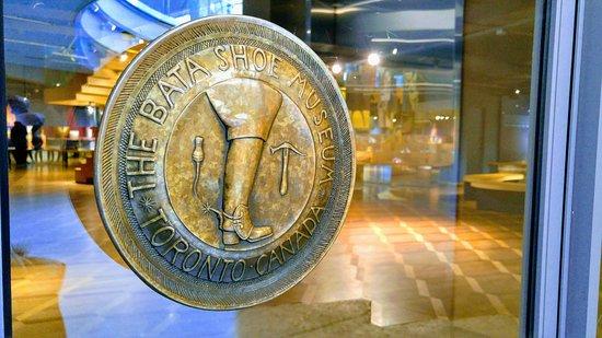 The BATA Shoe Museum logo shield