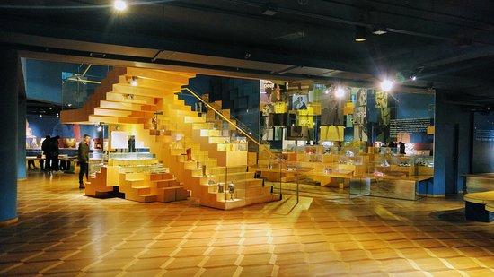 Bata Shoe Museum : Ground level