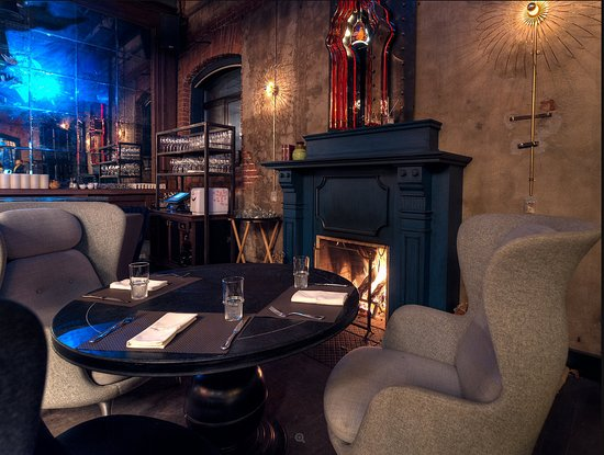 Duran Bar Moscow: Зона камина