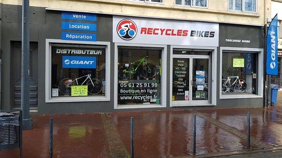 Recycles Bikes