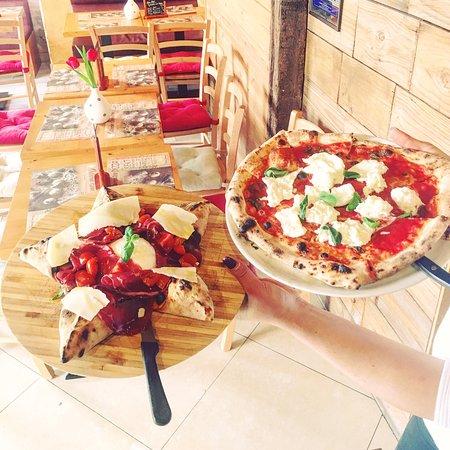 Neuenburg am Rhein, Deutschland: Pizza Alessio e Pizza Bufalina