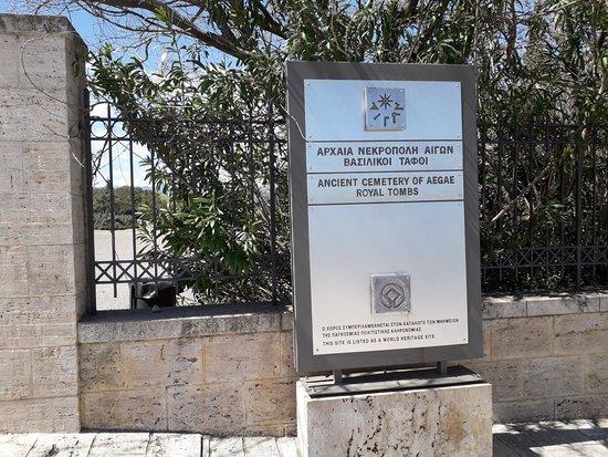 Vergina, Hellas: Sito di Aigai