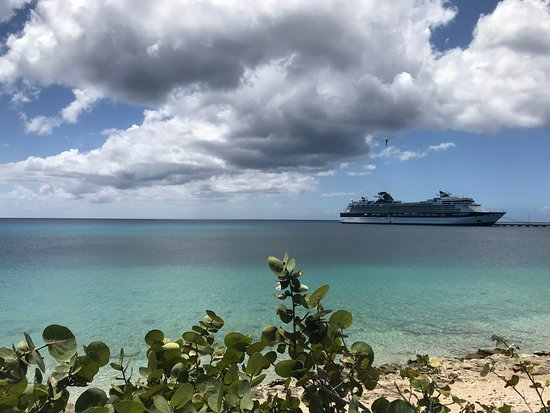 St. Croix Ultimate  Bluewater Adventures (SCUBA), Inc.: Great view from Louie & Nacho's in Fredericksted, St Croix
