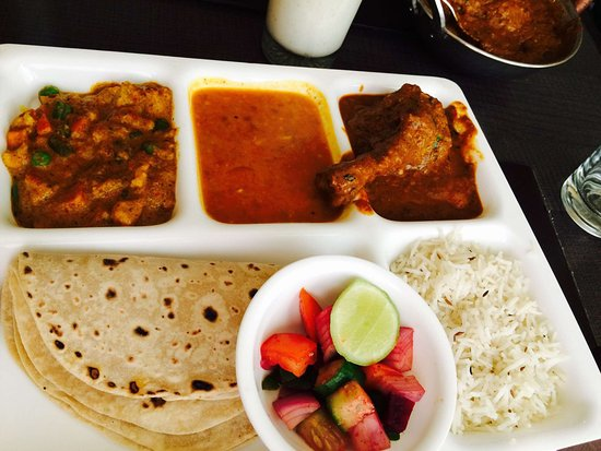 The Non Veg Thali Picture Of Swad Restaurant Vadodara Tripadvisor