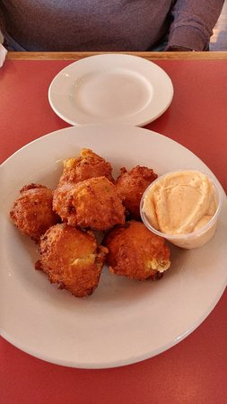 Bluefield, WV: Portuguese hush puppies...Yummy