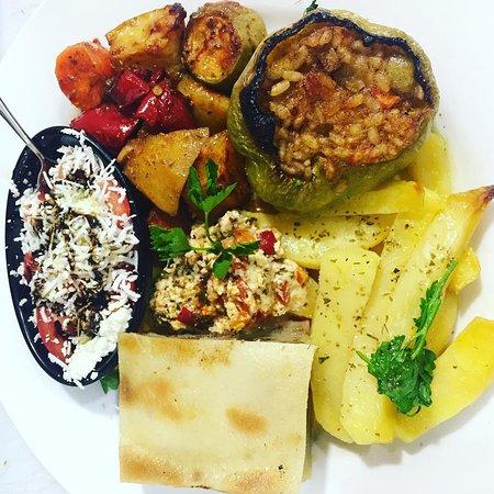 Peja Grill: oven mix vegetarian