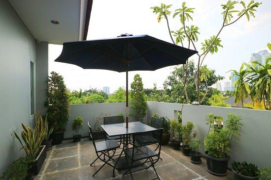 Balcony - Picture of MK House Senopati, Jakarta - Tripadvisor