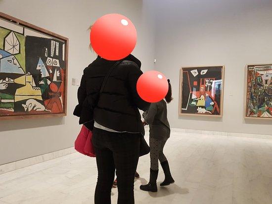 毕加索博物馆照片