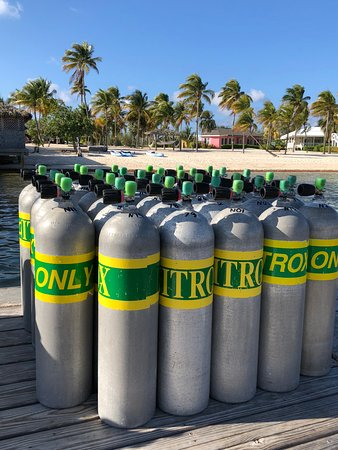 Southern Cross Club : Divers can choose air or Nitrox fills