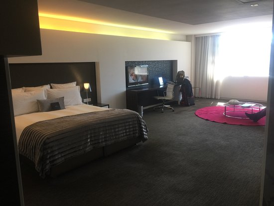 African Pride 15 On Orange Hotel: Deluxe room with city view. Massive comfortable rooms.