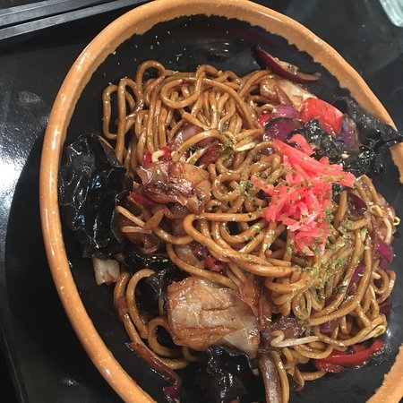 Fufu: Y Y  Yasai Yakisoba  Noodles with vegetables