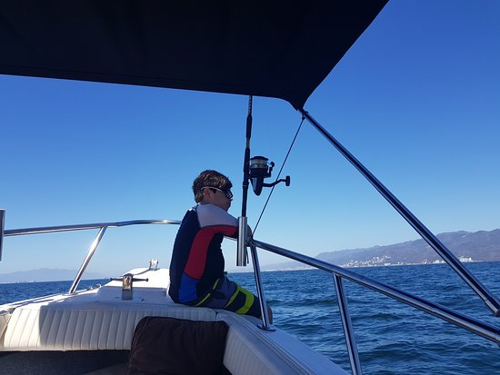 Charly's Sport fishing & Tours: Kids always have fun on the boats...
