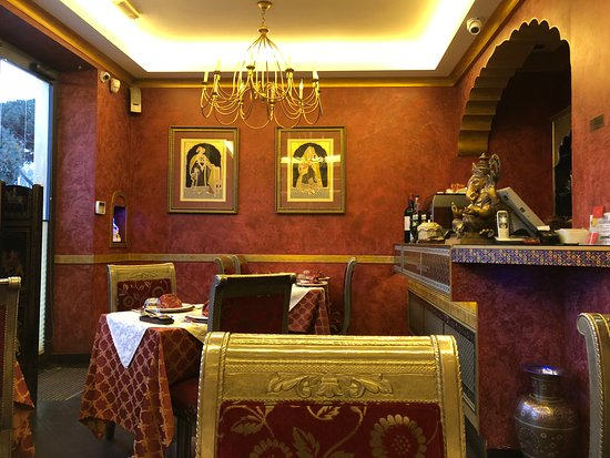 Haveli Indian Restaurant: The setting