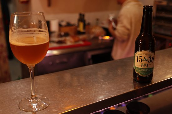 Trebujena, Hiszpania: IPA 15&30 Sherry beer