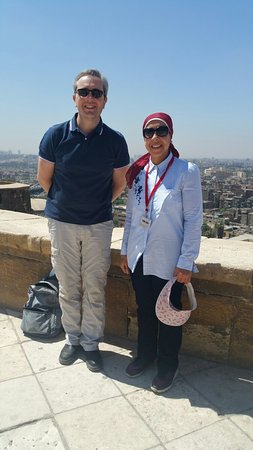 Aguided tour by Rashad El Ashmawy for his excellency Mr. Paul Lehman, the Australian Ambassador
