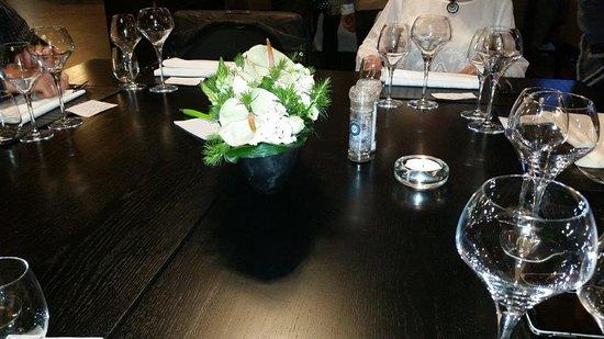 Henri-Chapelle, Belgium: La table