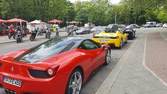 Guides of Berlin: Ferrari Lamborghini tour - with Yaron
