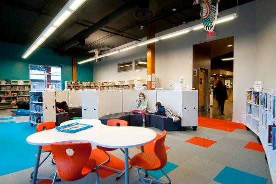 Pemberton, Kanada: Children's Library (redesigned in 2016)