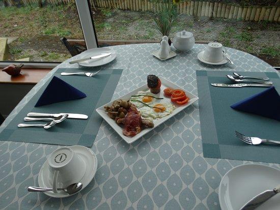 Dunlavin House: Full Irish Breakfast