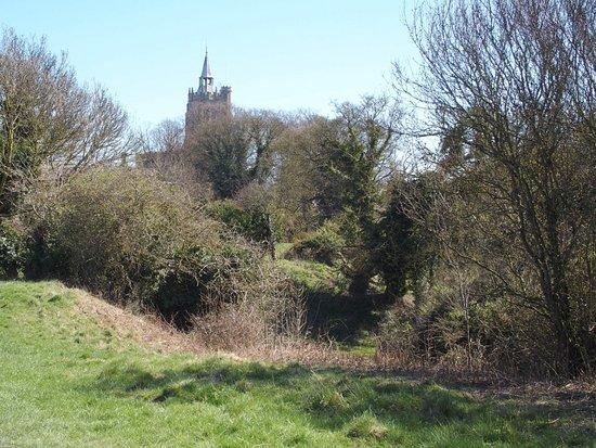 Burwell, UK: Burrell castle