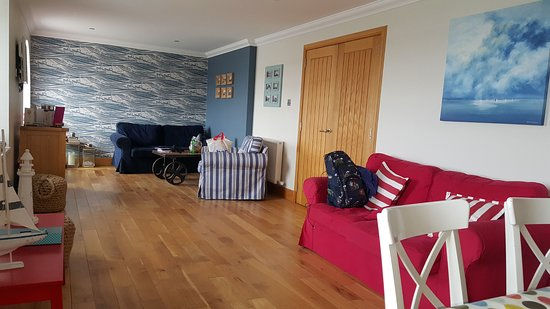 Burghead, UK: living room