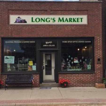 Greenfield, IA: Long's Market - exterior