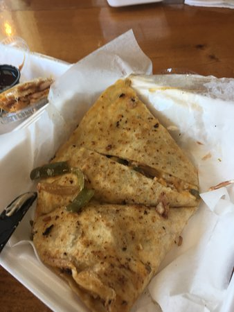 Vidalia, LA: Chicken quesadilla