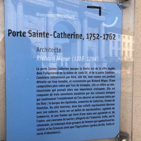 Porte sainte catherine nancy franciaorsz g rt kel sek for Rue catherine opalinska nancy