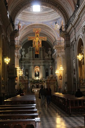 Salta Free Tour: Inside the iglesia San Francisco Salta