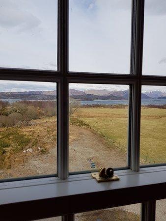Benderloch, UK: View from the Lochnell Room