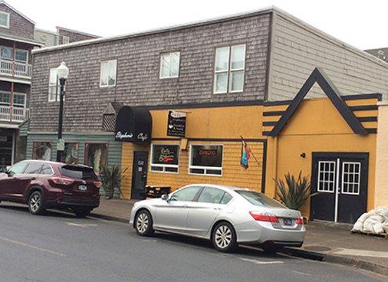 Cafe Stephanie, Nye Beach in Newport, OR
