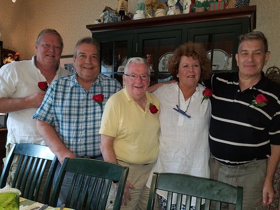 """Rose & Thistle Bed & Breakfast: Celebrating  our """"Sweet 16"""" years of having these wonder men as my  guests!"""
