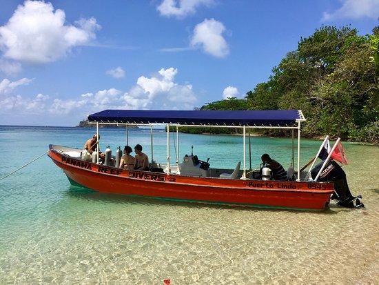 Puerto Lindo, Panama: Notre bateau