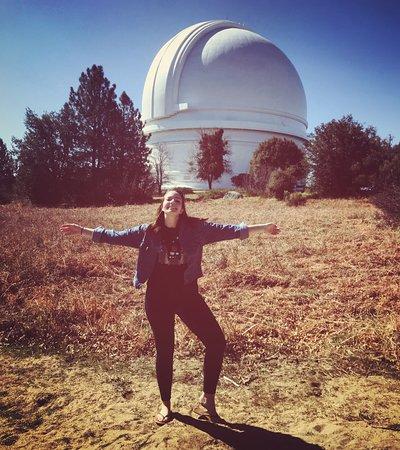 """Palomar Mountain, CA: Marina at the 200"""" Telescope"""