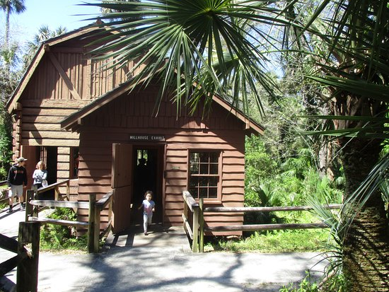 Ocala National Forest: Scenic Millhouse Exhibit
