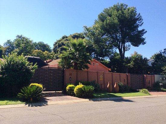 Rivonia, Afrique du Sud : Sitatunga entrance