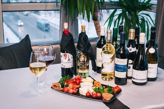 Lounge Cafe Baraka: Лучшая винная карта в городе/The best wine list in the city