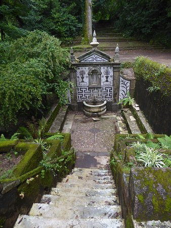 "Bussaco, البرتغال: Zugang zur Quelle ""Fonte Fria"""
