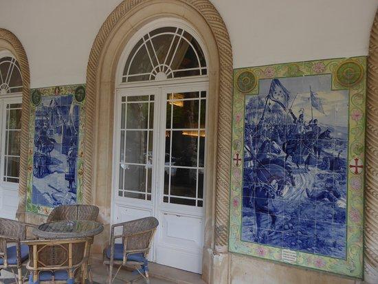 Palácio Real (Palácio Hotel Do Bussaco): Interessante Portugiesische Fliesen  Mit Szenen Aus Der