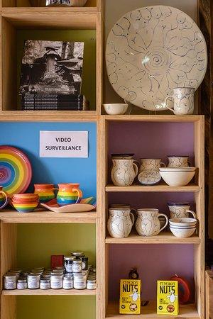 Ceramics & local products at Nimbin Visitor Information Centre