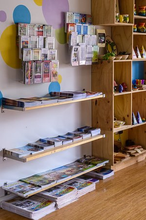 Free brochures available at Nimbin Visitor Information Centre