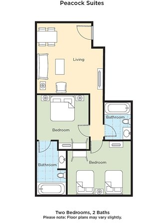Peacock Suites: Guest room