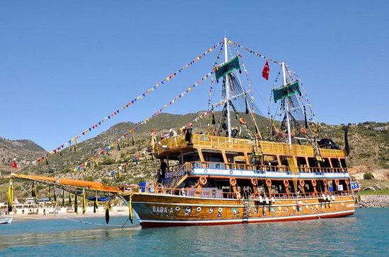 All Inclusive Boat Trip from Alanya