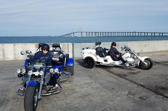 Motorcycle Tour of Sunshine Skyway...